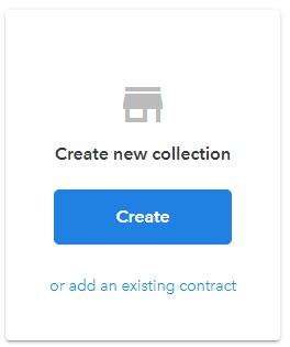OpenSea Créer