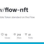 onflow/flow-nft: la norme de jeton non fongible sur la chaîne de blocs de flux